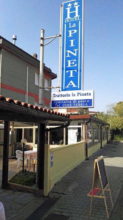 ФОТО Гостиница La Pineta (4)