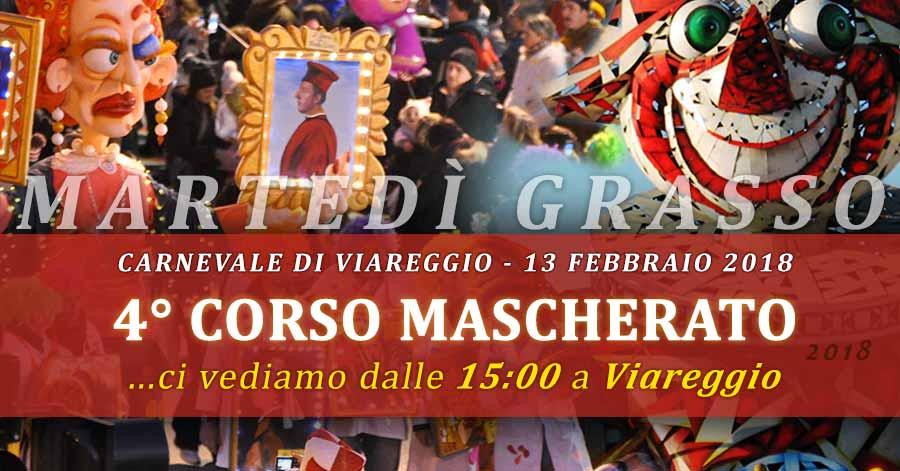 Foto EVENTO: 4° corso mascherato - Carnevale viareggio - Martedi Grasso 13 febbraio