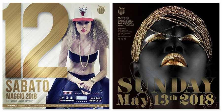 Photo Event: Seven apples: hip hop, reggaeton, dance & house club versilia