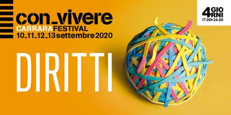 Reflections on rights at the xv, carrara festival con-vivere 2020