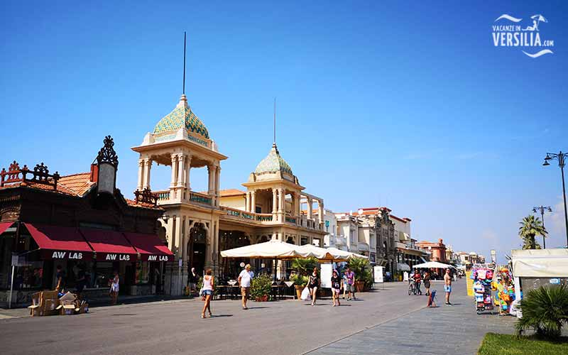 Viareggio in the Versilia Coast Tuscany Book your hotel or apartment
