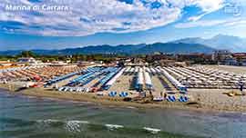 Photo about Marina di Carrara